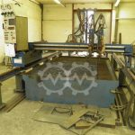 CORTINA DS 3100 Flame cutting machine