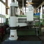 Csepel RfH 75×1500 radial drilling machine