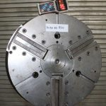 Ø 630 mm Power chuck Dreibackenfutter