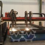 PIERCE SCORPION 3000 GP CNC Plasma cutting machine