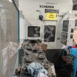 SCHERER FEINBAU VDZ 120re CNC Vertical Turning Machine