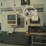 Scherer Feinbau VDZ 200 CNC Vertical Turning Machine