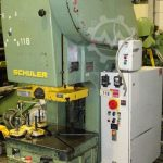 Schuler PDr 80 280 Eccentric press 80 ton
