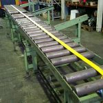 unbekannt 5800 x 600 mm Roller conveyor adjustable in height 5800 mm