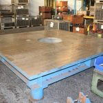 Welding table 3200 x 3200 mm
