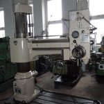 WMW BR 32×1250 radial drilling machine